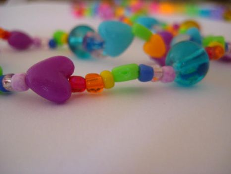 beaded necklace by Shimmerbrite