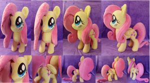 Large Fluttershy Plush FOR SALE by PantherPawCreations