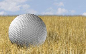 Golf Ball 2.0 by DJcube