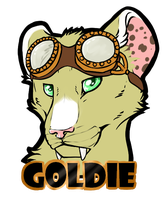 Goldie Badge  .:Commission:. by Baileeluz