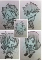 FT Strongest Chibis~ by Ryuukeru