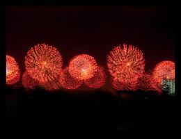 Fields of fireworks by ISIK5