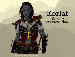 Korlat: Second to Anomander Rake by YapAttack