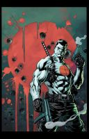 Bloodshot Cover by JoshJ81