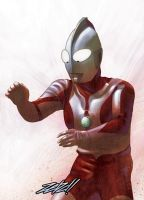 Ultraman II by z3dd
