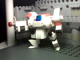 Space Team - Knight Security Robot by Jandyman