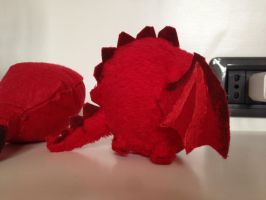 Dragon detail: side by millo486
