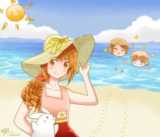 Hetalia- Summer with WY - Contest Entry by DaisyLovin