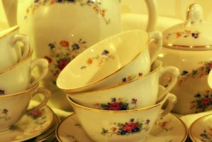Tea cups by t1nus