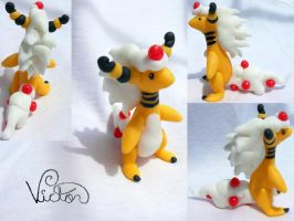 Mega Ampharos by VictorCustomizer