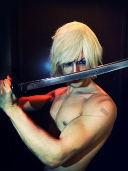 Raiden - Metal Gear Solid 4 Make Up Test Cosplay by LeonChiroCosplayArt
