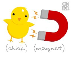 CHICK MAGNET by ChidoWear