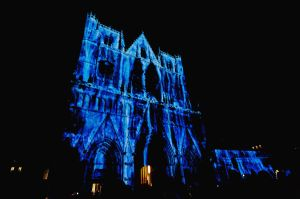 Lyon - Fete des Lumieres 2012 - I by OlivierAccart