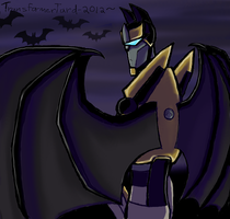 Bat Prowl by Primeval-Wings