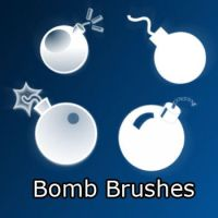 Bomb Brushes by remygraphics
