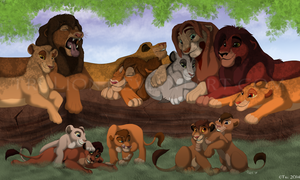 Family Outing by TruLion
