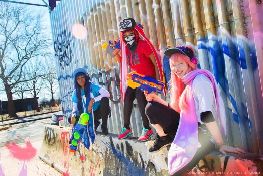 SPLAT KIDZ by BlankoCosplay