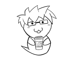 Ghostie w/ Coffee by SMPGaming