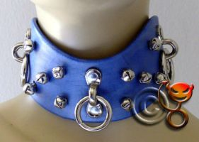 Collar with jingle bells by tupali