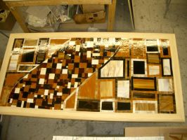 Mosaic frames-unstained by FireKat