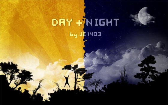 Day+Night Wallpaper Pack by JE1403