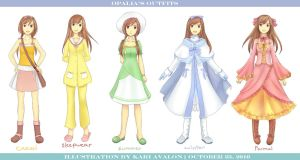 Outfits of Opalia Stellamille by kariavalon