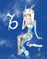 Capricorn by TryNotToSmile