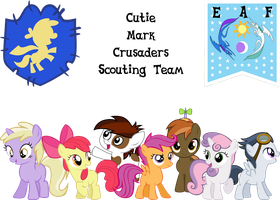 Cutie Mark Crusaders Scouting Team, YAY by SonictheHedgehogPL
