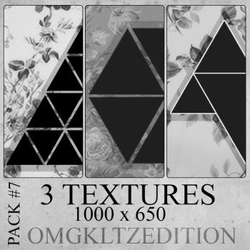 Pack #7 - 3 textures by OmgKltzEdition