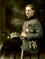 Prince Nicolae in uniform by Linnea-Rose