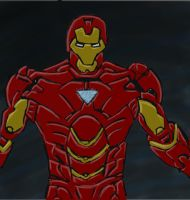.Iron man. by Wolfrem