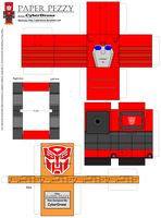 Paper Pezzy- Cliffjumper by CyberDrone