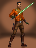 Ezra Bridger by Sticklove