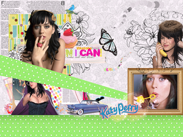 Katy Perry - Colagem LP by WellTheBest
