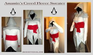 Assasins Creed Fleece Hoodie by giddychilde