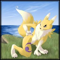 Renamon - How Dare You by flamekittie84