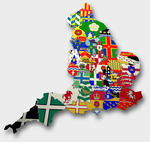 A county map of England by golborne-identity