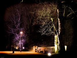 Paderborn at night - Part III by MadPotato