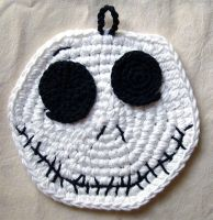 Crochet Jack Skellington by meekssandygirl