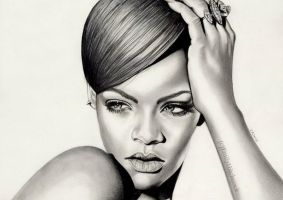 Rihanna by EmilyHitchcock