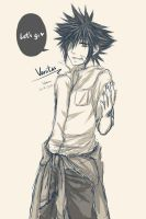 KH : Vanitas sketch by yoruven