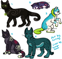 Cat Designs by Solloby