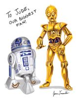Droids for Jude by femjesse