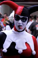 Harley Quinn  Megacon 2011 by darkmoonchild