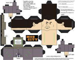 MobCity2: Mickey Cohen Cubee by TheFlyingDachshund