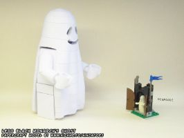 Poor papercraft LEGO Ghost... by ninjatoespapercraft