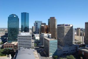 Stock 285 - Edmonton Skyline by pink-stock