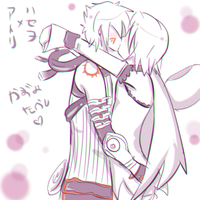 Haseo and Atoli kiss by kazumitakashi