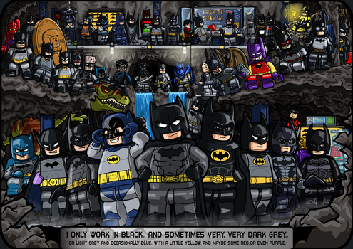 Batmen - Dark Knights and Caped Crusaders (Update) by Catanas192