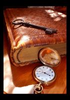 The Book of Time and Secrets by Forestina-Fotos